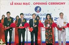 越南国际食品饮料展及越南加工技术及包装设备展览会开幕