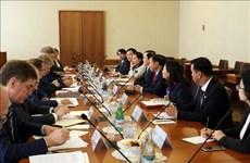 越南内务部部长黎永新对俄罗斯进行工作访问