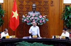 越南政府总理阮春福主持召开越共十三大经济社会小组常委会会议