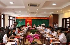 越共中央书记处常务书记陈国旺视察得农省
