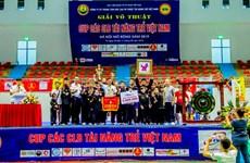 2019年河内越南年轻人才俱乐部杯武术公开赛落下帷幕