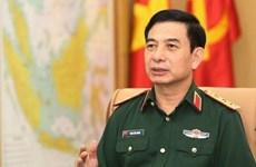 越南人民军高级军事代表团对俄罗斯进行正式访问