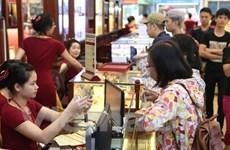 8月13日越南黄金价格超过4200万越盾