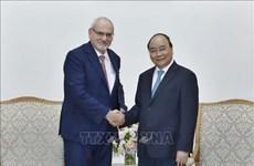 阮春福总理会见世界银行集团国际金融公司首席执行官