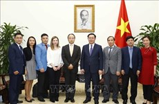 王廷惠副总理:鼓励拥有全球商品分销系统的外国投资商来越投资