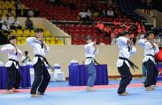 2019年第2届亚洲跆拳道公开赛开幕