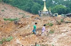 缅甸山体滑坡死亡人数增至近70人