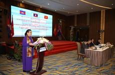 柬老越三国国会对外委员会第七次会议在广宁省举行