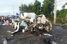 泰国公路交通事故和印尼水上交通事故 致使许多人死亡