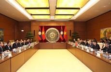 越南国会与老挝国会深化合作关系