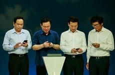 """越南启动""""全国携手为贫困群众行动""""发短信活动"""