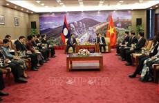 老挝国会副主席率团对岘港市进行访问