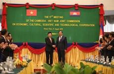 越南与柬埔寨签署全面合作协议