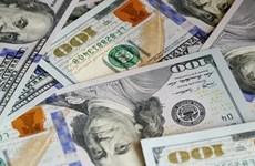 8月22日越盾对美元汇率中间价 下调4越盾