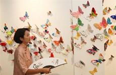 """""""化身蝴蝶""""装置艺术展    拉近与残疾人的距离"""