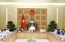 政府总理阮春福主持召开越共十三大经济社会小组第五次会议