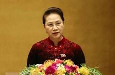 越南国会主席阮氏金银启程出席AIPA 40并对泰国进行正式访问