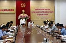 越南政府副总理张和平在广宁省调研