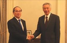 李显龙总理:新加坡希望促进与胡志明市的全面合作关系