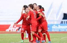 2019年东南亚女子锦标赛:越南女子足球队杀入总决赛