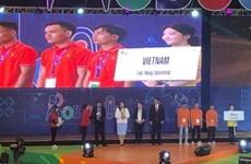 越南队在2019年亚太大学生机器人大赛获得三等奖
