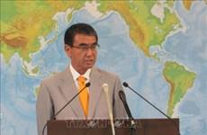 日本外务大臣强调维护东海上法律至上原则的必要性