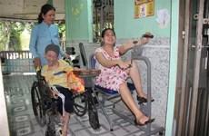 日本协助提升越南橙毒剂感染区居民健康水平