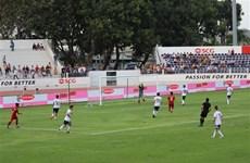 2019年Acecook杯U15国际男足比赛开战