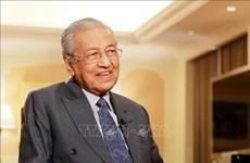 马来西亚总理马哈蒂尔:加强马越战略伙伴关系  为两国带来利益