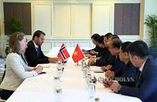AIPA 40:挪威支持越南关于各国家需尊重各国海上主权的观点