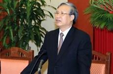 越共中央政治局: 将预防和应对气候变化、自然灾害以及保护环境置于各发展决定和计划的中心