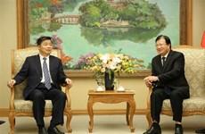 越南政府副总理郑廷勇会见中国广东省副省长欧阳卫民