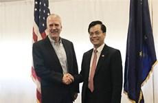 进一步加强越南与美国阿拉斯加州之间的合作