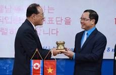 越南与朝鲜工会组织加强合作