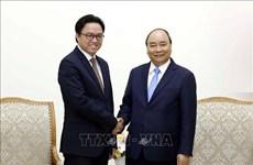 阮春福总理会见柬埔寨驻越大使波拉克