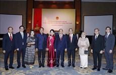 越南政府总理与夫人为各国大使与代表机构领导举行国庆招待会