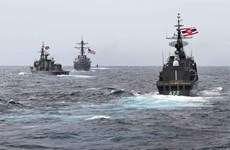 缅甸参加东盟-美国国际海事演习
