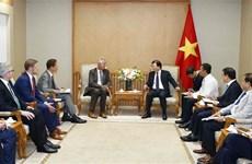 越南鼓励德国企业合作发展可再生能源