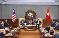 马来西亚总理结束对越南进行的正式访问
