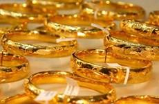 30日越南黄金价格下降33万越盾