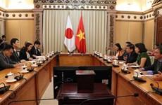 越南胡志明市与日本宫城县加强教育、旅游合作