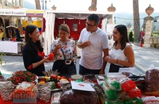 越南参加意大利国际辣椒博览会