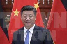 中国领导人就越南国庆74周年向越南领导人致贺电