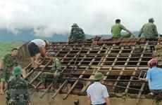 第四号台风及其环流袭击越南造成7人伤亡 全国各地遭受严重损失