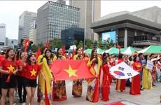 2019年韩国越南文化节吸引成千上万人前来参加