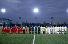2019年U15国际女子足球锦标赛开幕