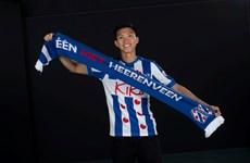 越南球员段文厚加盟荷甲球队海伦芬