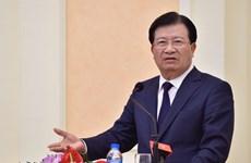 越南政府副总理郑廷勇率团出席2019年东方经济论坛