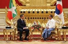 缅甸与韩国深化合作
