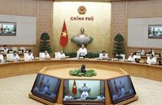 越南政府总理阮春福召开政府8月份例行会议
